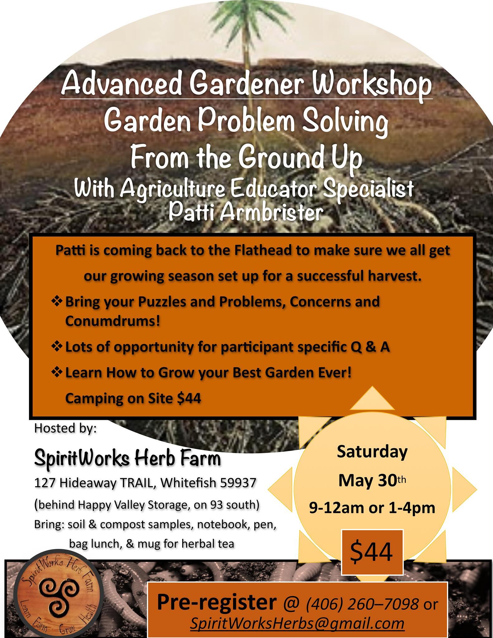 spiritworks garden workshop